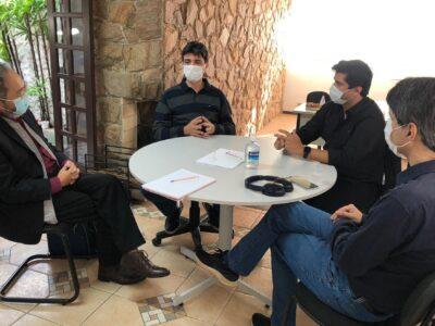 Reunião no Centro de Inteligência de Porto Feliz
